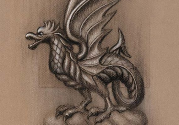 A Highclere Wyvern
